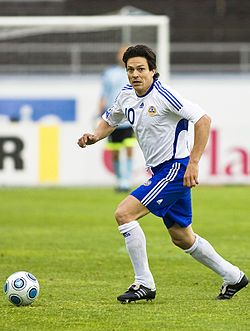 Jari Litmanen - Finland's best soccer player ever! The King.
