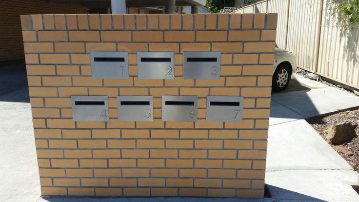 Letterbox pillar. Melbourne.