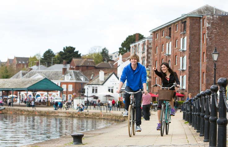 Exeter's Historic Quayside is one of the most attractive areas of the city, so why not explore it by bike?  http://www.heartofdevon.com/exeter/things-to-do/activities/outdoor-activities-in-exeter