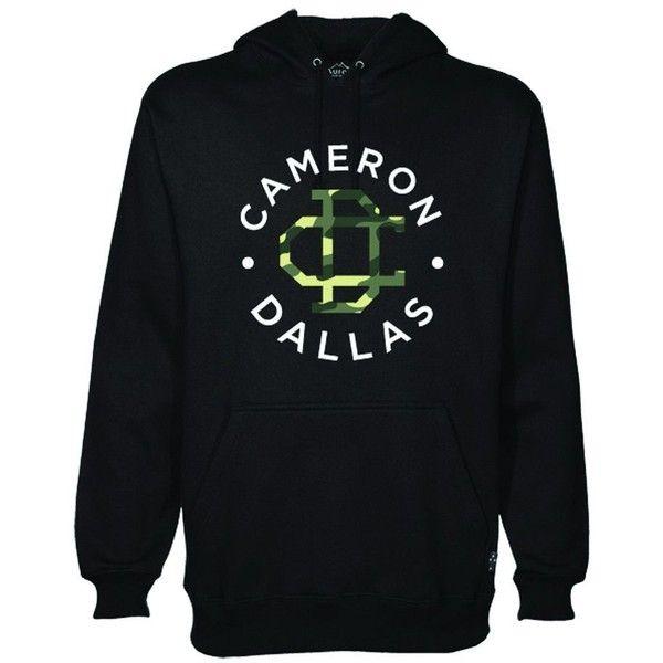 Cameron Dallas Hoodie Black/Camo ❤ liked on Polyvore featuring tops, hoodies, camouflage hoodies, hoodie top, camouflage hoodie, hooded pullover and camo hoodie