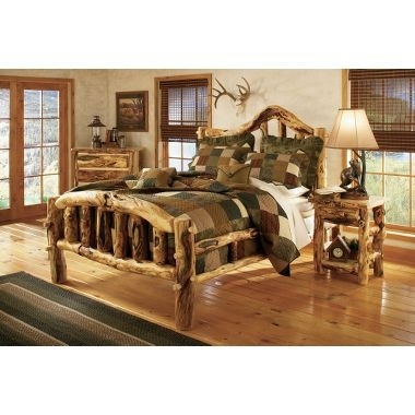 Beau Cabelau0027s Extra Gnarly Aspen Log Bed