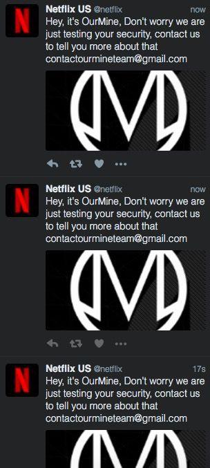 Mercredi 21 décembre 2016, le compte Twitter de Netflix US connaît une activité un peu suspecte... Hack ou campagne de pub en vue?