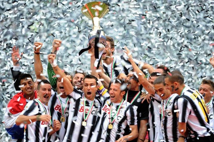 Juve campione d´ Italia