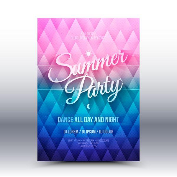Kostenlose Eps Datei Sommer Party Flyer Vorlage Vektor 01 Download Name Sommer Party Flyer Vorlage Vektor 01 Dateien Qu Dance All Day Flyer Summer Backgrounds