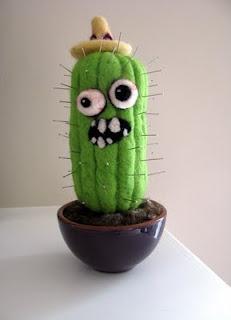 Zombie Cactus Pincushion