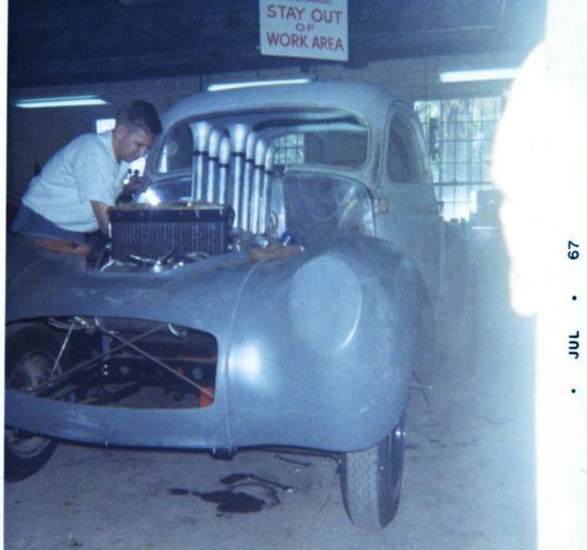 Ford Drag Race Cars