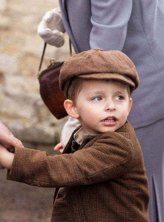 downton abbey season 3: little charlie...ethels sweet little boy