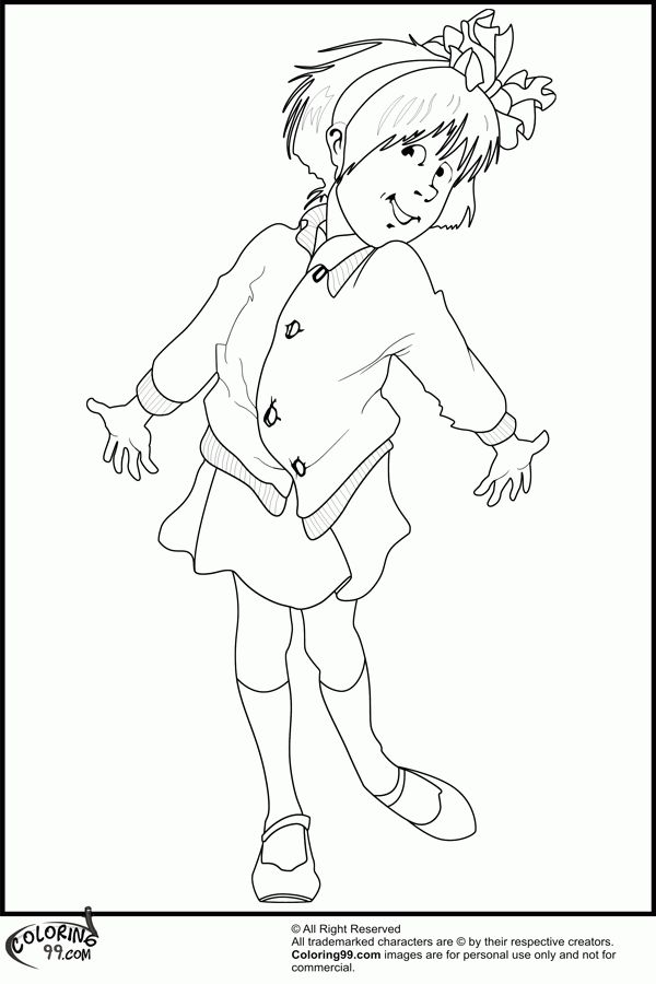 Junie B Jones Coloring Pages Printable - AZ Coloring Pages