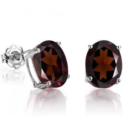 SOLD OUT 1 Ct. Garnet Earrings