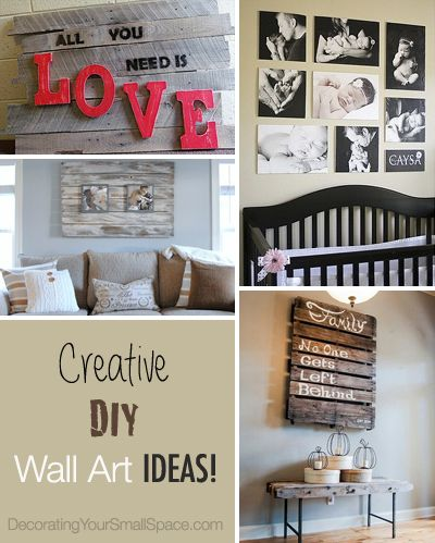 DIY Wall Art For Small Homes