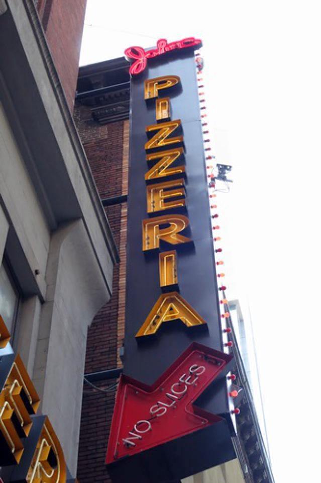 Great Restaurants in Times Square (Yes, They Do Exist): John's Pizzeria