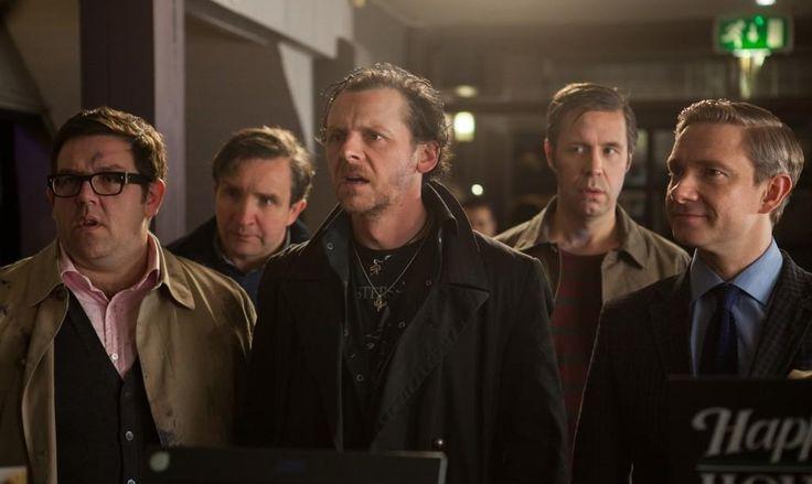 The World's End: Simon Pegg, Nick Frost, Martin Freeman, Paddy Considine and Eddie Marsan