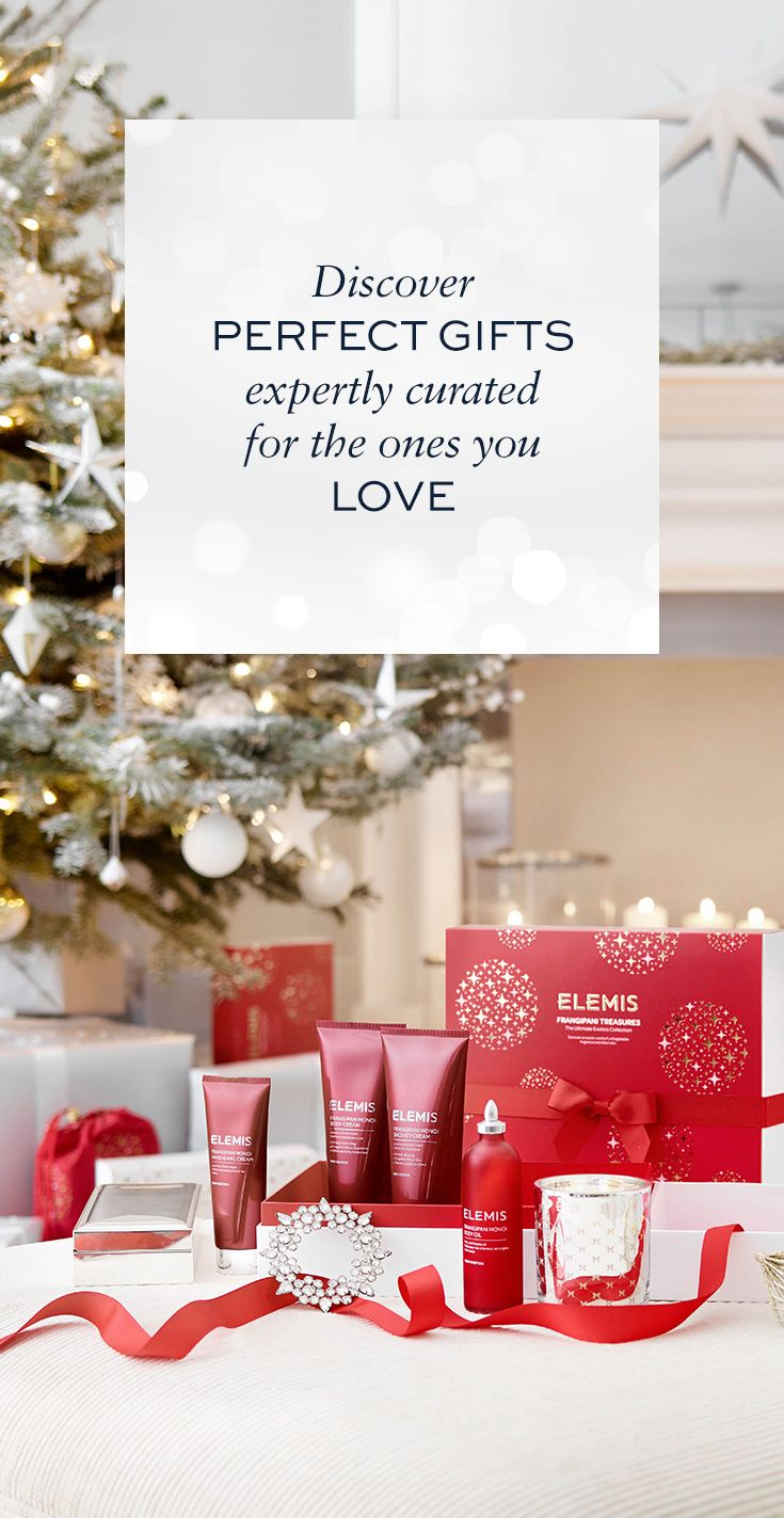 'Tis the season to love British Beauty. Discover these exquisite collections. Perfect Christmas gifts and gift sets expertly curated for the ones you love. Christmas Gifts from ELEMIS.COM.