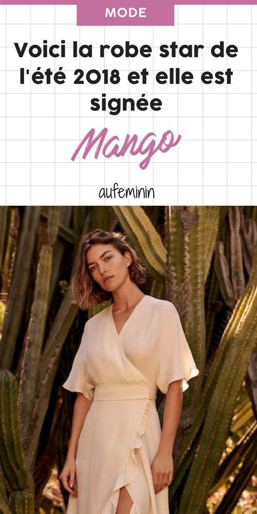 c65db6164b8e Voici la robe star de l été 2018 et elle est signée Mango ! (Photos)   aufeminin  mode  tendance  été  robe  mango  shopping  style