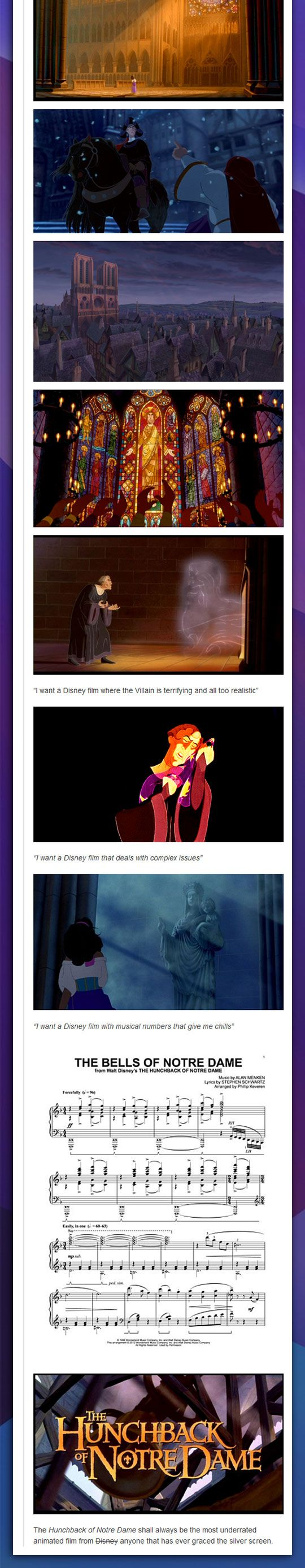 THAT MAKES NO SENSE! IT'S ONE OF THE BEST FILMS DISNEY EVER MADE!!