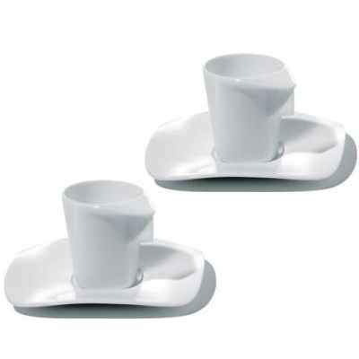 Hani Rashid  Alessi Express Mocha Cups Set Of 2