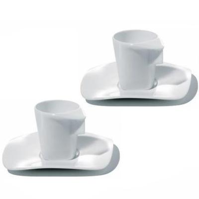 Hani Rashid  Alessi Express Mocha Cups Set Of 2