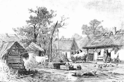 A PARASZTHÁZ: magyar térrendezés, parasztház, egysejtű ház, háromosztatú ház