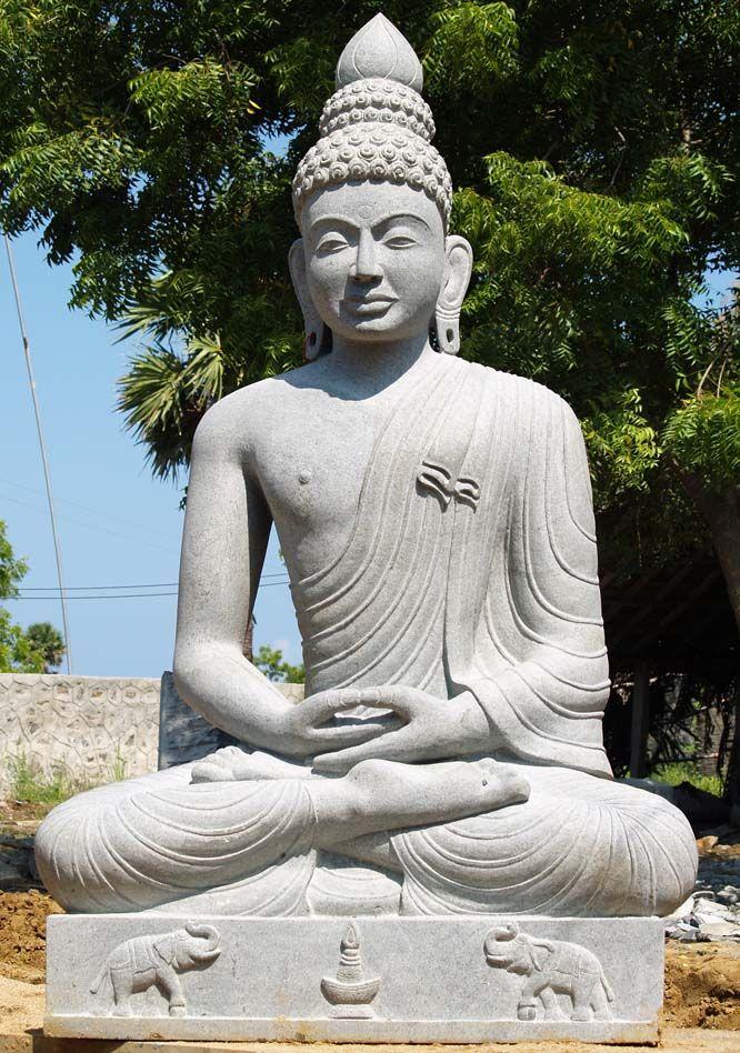"Mauna Kea Large Buddha Statue 87""♥♥♥"
