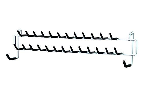 Closetmaid 8051 Tie And Belt Rack White Belt Rack Closetmaid Tie Rack