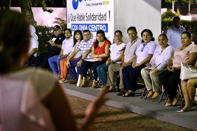 Periodismo sin Censura: ESCUCHA CRISTINA TORRES INQUIETUDES DE VECINOS DE ...