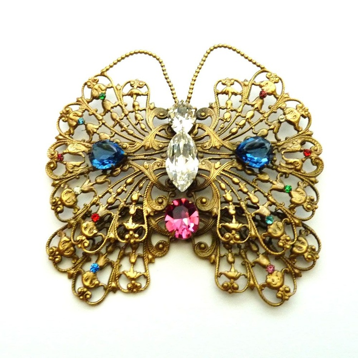 Joseff of Hollywood Butterfly Pin