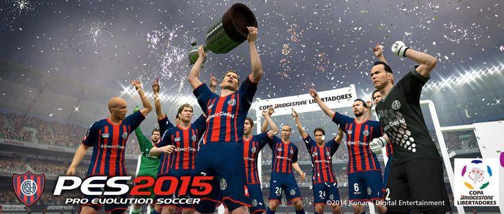 Pro Evolution Soccer 2015 - http://games.tecnogaming.com/2014/11/pro-evolution-soccer-2015/