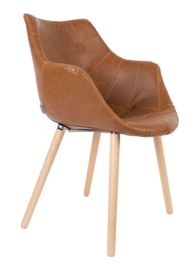 Wat: Twelve stoel Ontwerper/fabrikant: Zuiver Herkomst: Nederland Materiaal: Beuken (hout), Plastic, Polyester (kunststof) Prijs: € 179,-  De Twelve stoel van Zuiver is verkrijgbaar in verschillende modellen. Deze leren variant komt naar mijn mening naar buiten met het beste resultaat. Met name de beukenhouten poten in combinatie met het leer maakt de stoel voor mij interessant om naar te kijken.
