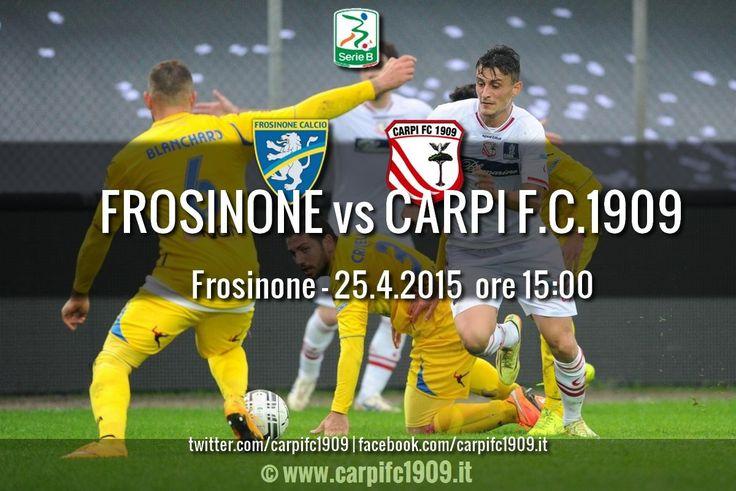 Carpi FC 1909 » INFO BIGLIETTI PER FROSINONE