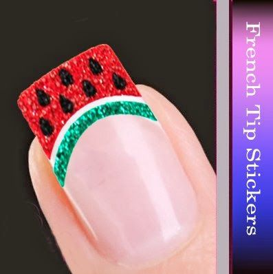 Cool Girls Stuff: Watermelon Nail Art