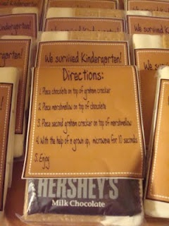 End of year class gift - S'mores Kit