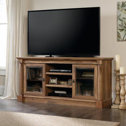 Sauder Palladia Entertainment Credenza TV Stand | Hayneedle