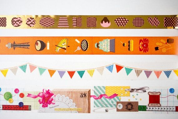 """Top row ~ """"Valentine"""" from 2013 mt Masking Tape / Limited Edition mt store in by LightLife"""