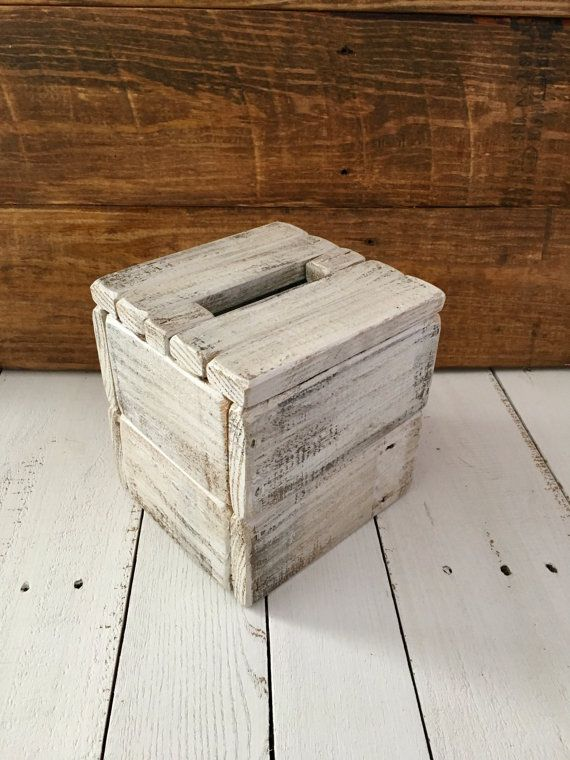 how to make a tissue box cover wood