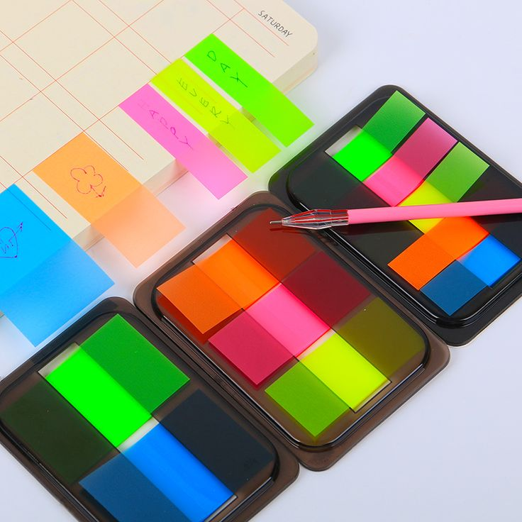 1pcs DIY New Cute Kawaii Colored Memo Pad Lovely Sticky Paper Post it Note School Office Supplies Korean Stationery