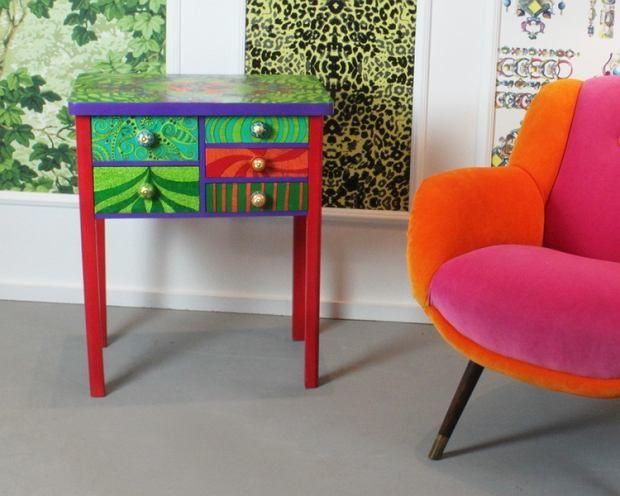 Zdjęcie numer 4 w galerii - Ręcznie malowane meble od Art PoPo