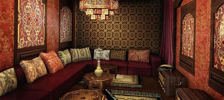 Восточный стиль в интерьере, созданный с помощью обоев - Дизайн и интерьер…