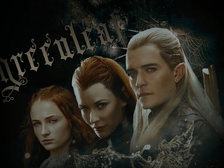 Pin on Legolas and Tauriel