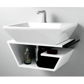 Discover All The Information About The Product Countertop Washbasin /  Rectangular / Ceramic / Contemporary CRYSTAL By Francesco Lucchese    Olympia And Find ...
