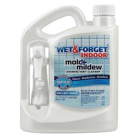 Wet And Forget Indoor Mold Mildew Disinfectant Cleaner Multicolor