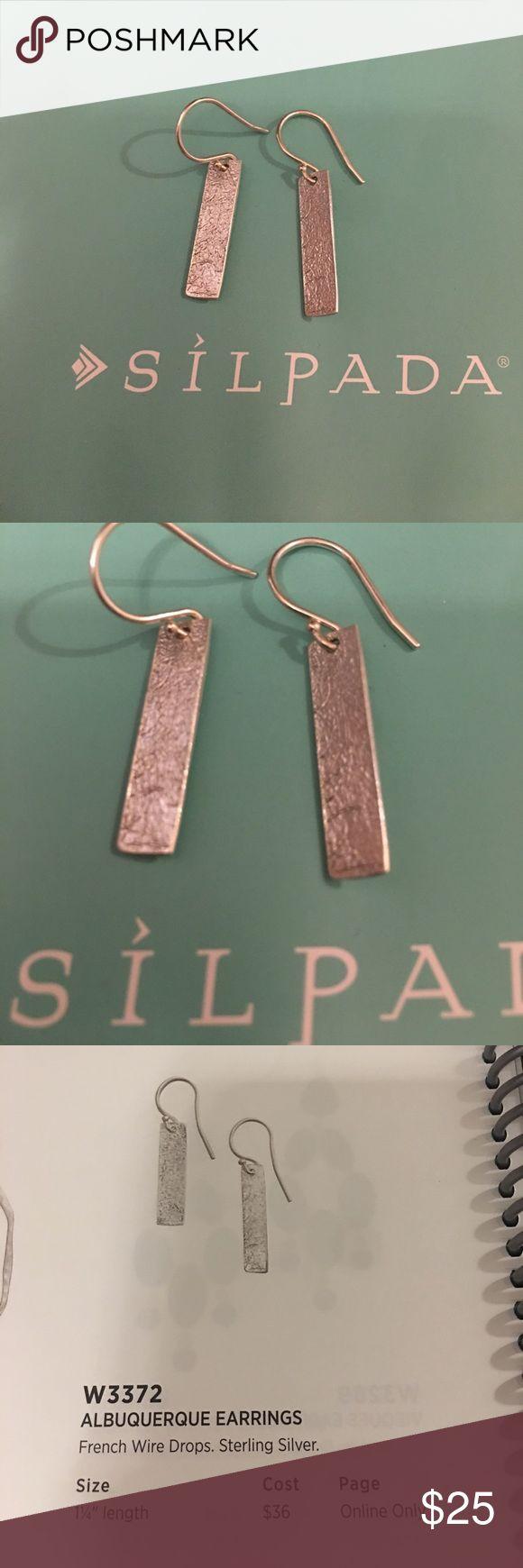Silpada designs Albuquerque earrings sterling Silpada designs Albuquerque earrings sterling silver. New never worn. Silpada Jewelry Earrings