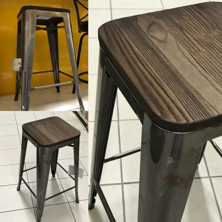 Luv this kitchen counter stool!! Hip hip!! @CanadianTire #homedecor #kitchendesign #stools
