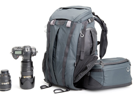 A cool concept for an outdoor backpack: Rotation180° Photo Backpack by MindShift Gear