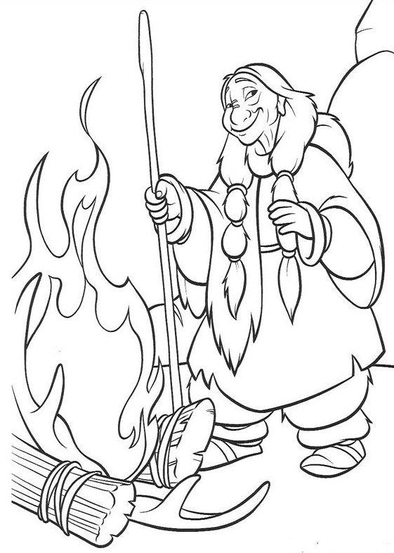 Раскраска Братец медвежонок # 36