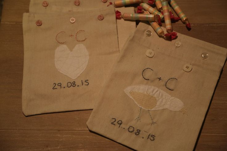Handcrafted children's activity packs for rustic styled wedding. Separate designs for boys and girls. Stacked full of activity booklets, lollies and games. The little ones won't feel left out in your Big Day with their own personalised favours.