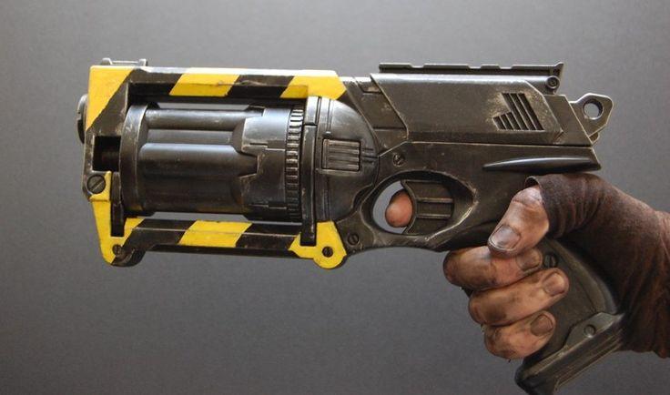 Dieselpunk Nerf gun mod by SallySloth.deviantart.com