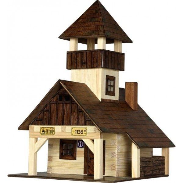 Kits maqueta madera Walachia 1340 - Refugio de montaña, IndalChess.com Tienda de juguetes online y juegos de jardin