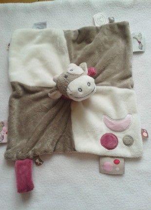 À vendre sur #vintedfrance ! http://www.vinted.fr/mode-enfants/animaux-en-peluche/44210996-doudou-lola-noukies-neuf