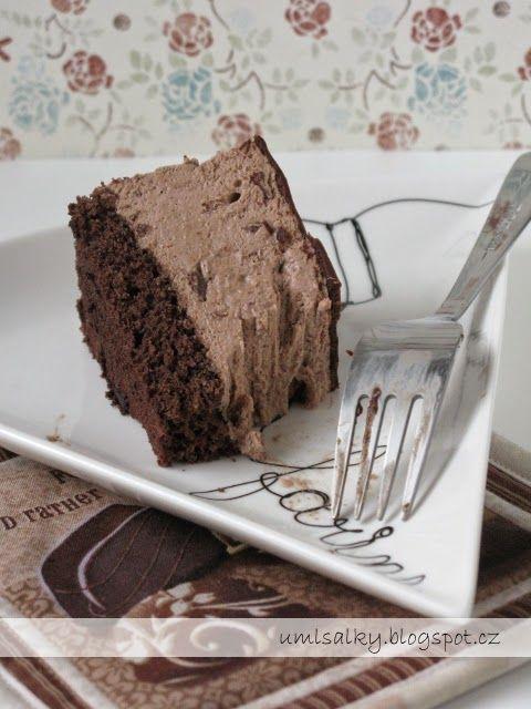 U mlsalky: Čokoládový dort s řeckým jogurtem