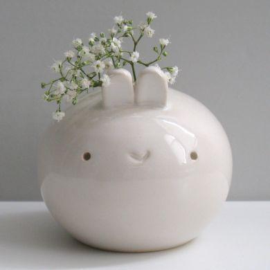 Kawaii cute Bunny vase